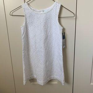 NWT Toddler Girls White Dress 4T